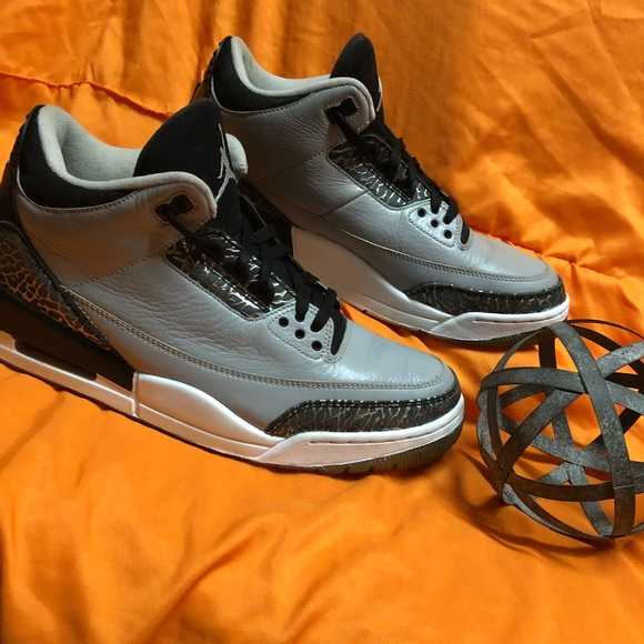 01cc70761ab3e9 Jordan Other - Jordan 3 Retro Grey Black Cement Size 12